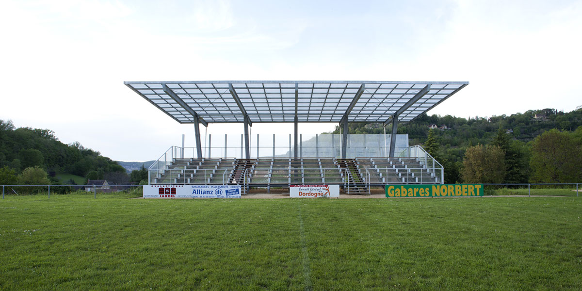 Cenac Grandstand Coco Architecturecoco Architecture